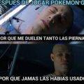 Despues de jugar Pokemon Go