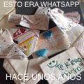 Esto era Whatsapp hace no mucho