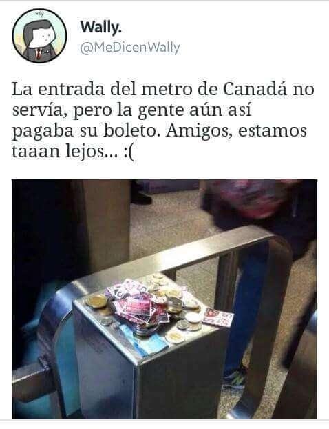 Mientras tanto en Canada