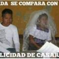 Que feliz es el matrimonio