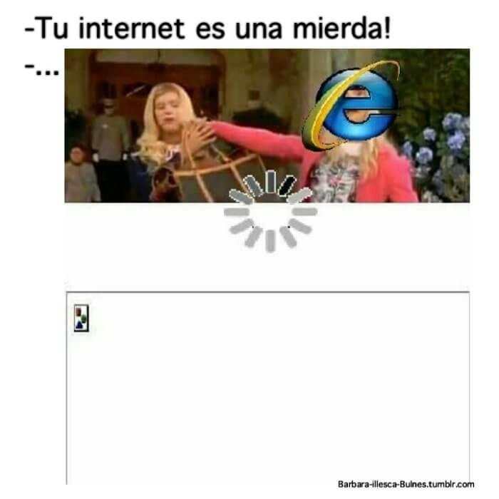 Cuando insultan a tu internet