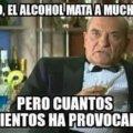 El alcohol es importante para el ciclo de la vida