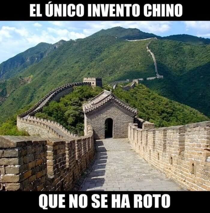 Lo unico chino que sigue funcionando