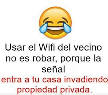 Razones para usar el wifi del vecino