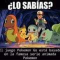 Sabias esto de Pokémon Go
