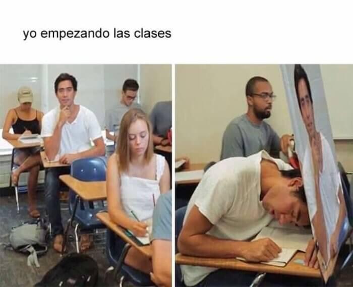 Como deberiamos empezar las clases