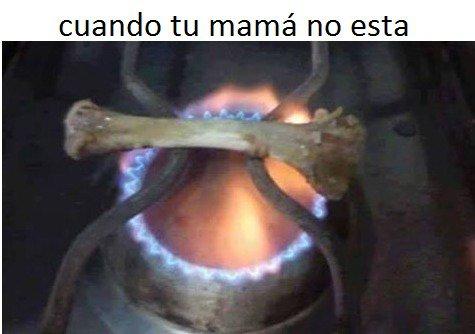 Cuando tu madre no es quien cocina