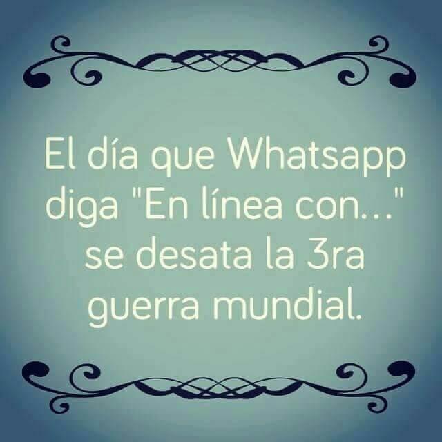 El día que Whatsapp tenga