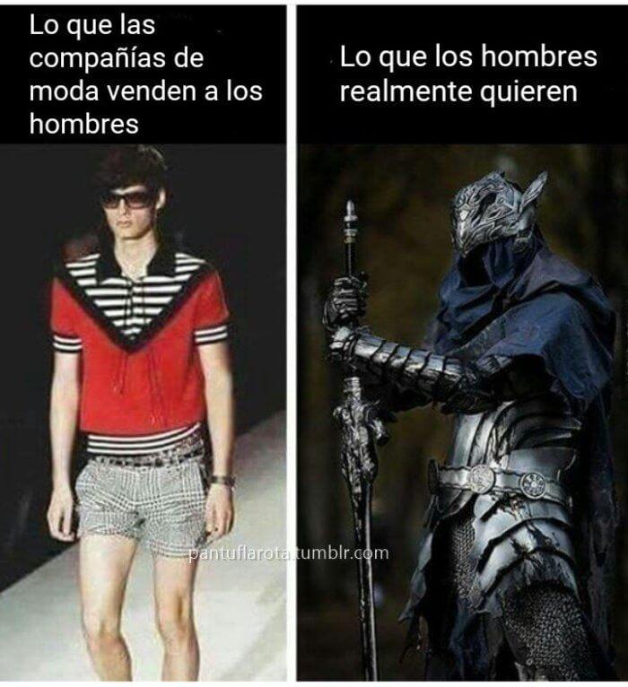 Lo que todo hombre quiere vestir