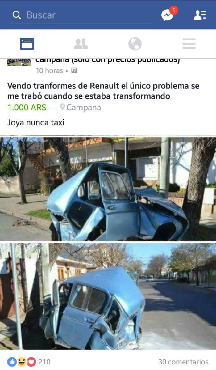 Se vende Transformers