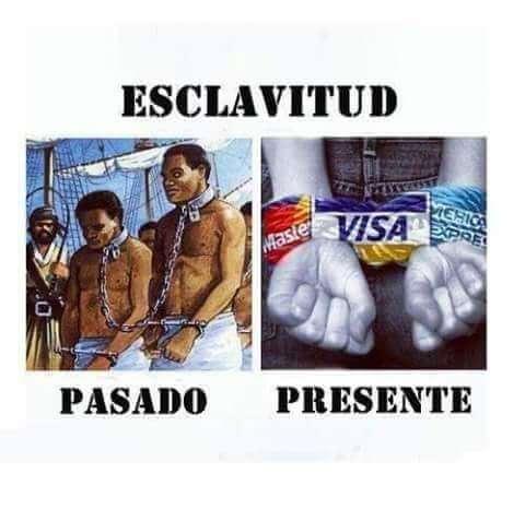Diferentes tipos de esclavitud