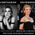 En Instagram vs en persona