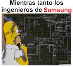 Mientras los ingenieros de Samsung