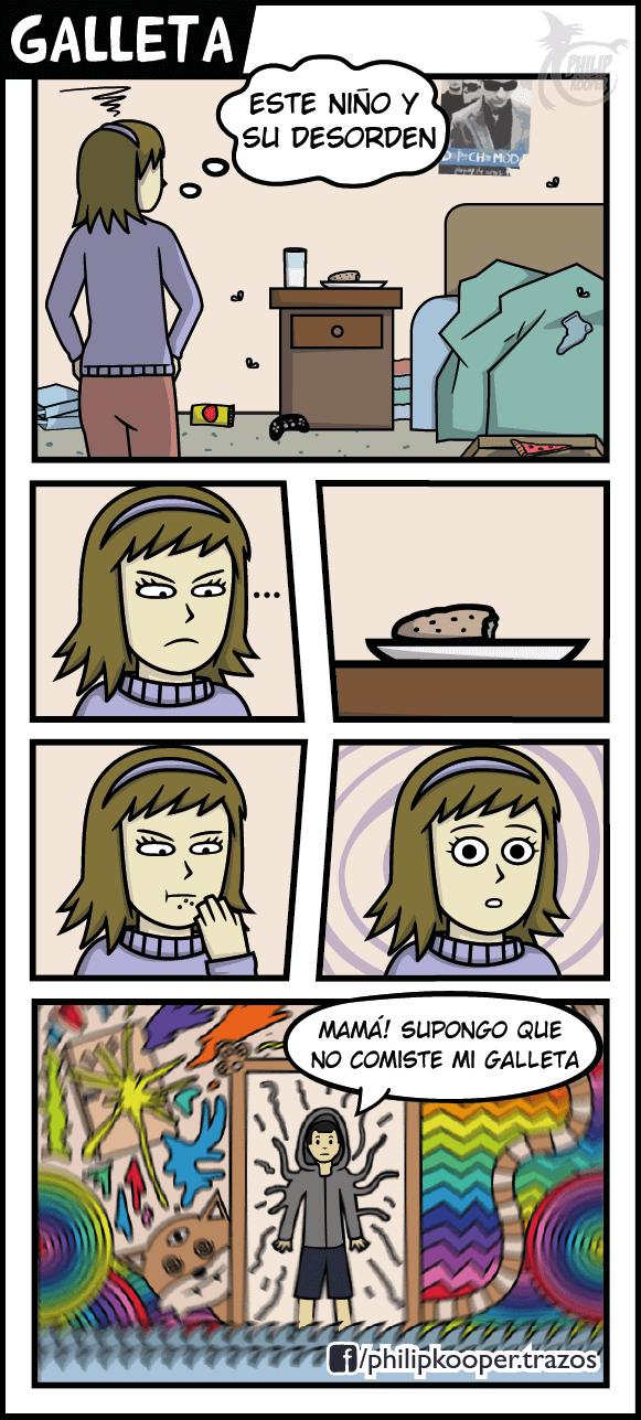 Nunca hay que comer la comida de tus hijos