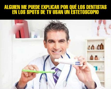 Porque los dentistas de tv