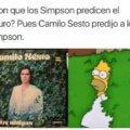 Camilo sesto predijo a Los Simpsons