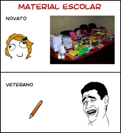 El material escolEl material escolarar