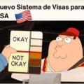 El nuevo sistema de visas de Estados Unidos