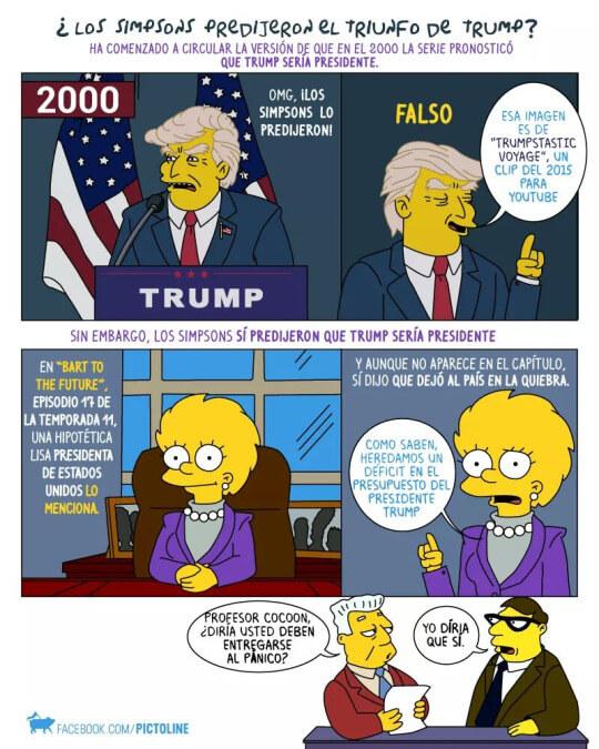La verdad de las predicciones de los Simpsons
