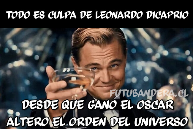 Todo lo que sucede es cosa de Leonardo Di Caprio