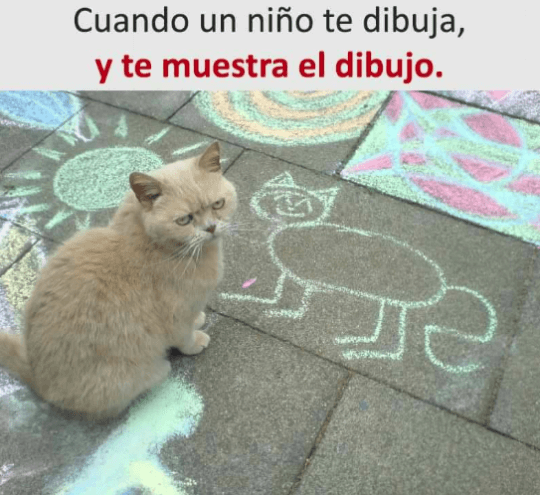 Cuando un niño te dibuja