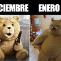 Diciembre vs enero