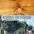 Diferentes tipos de saunas