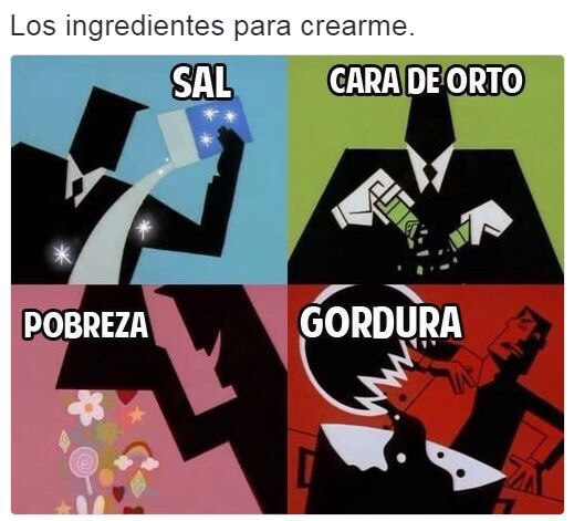 Los ingredientes de nuestra creacion