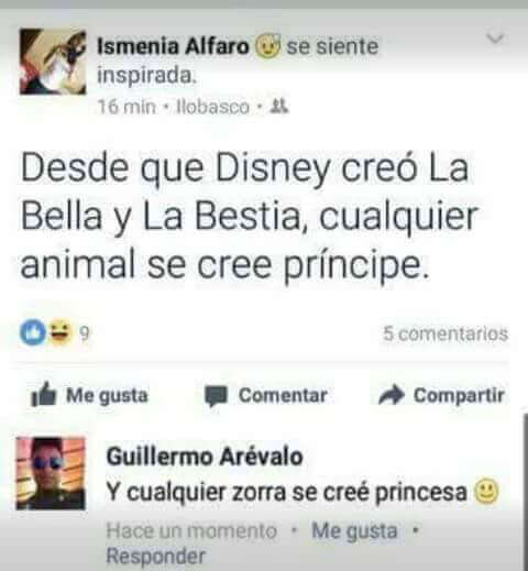 Todo es culpa de Disney