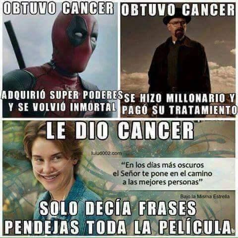 Cosas del cancer