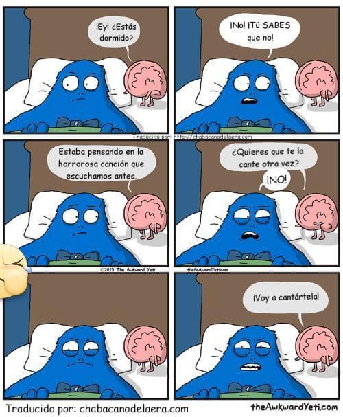 Cosas que hace tu cerebro cuando no puedes dormir