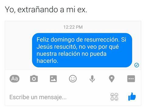 Cuando extrañas a tu ex