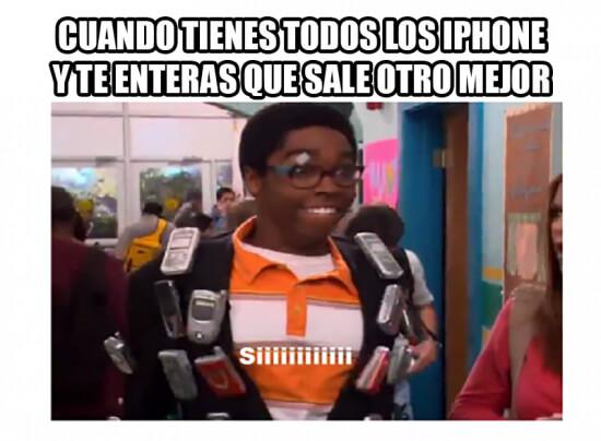 Cuando me dicen que saldra un nuevo iPhone