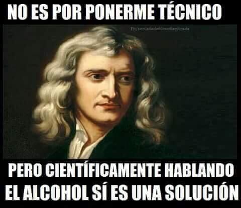 El alcohol si es una solucion