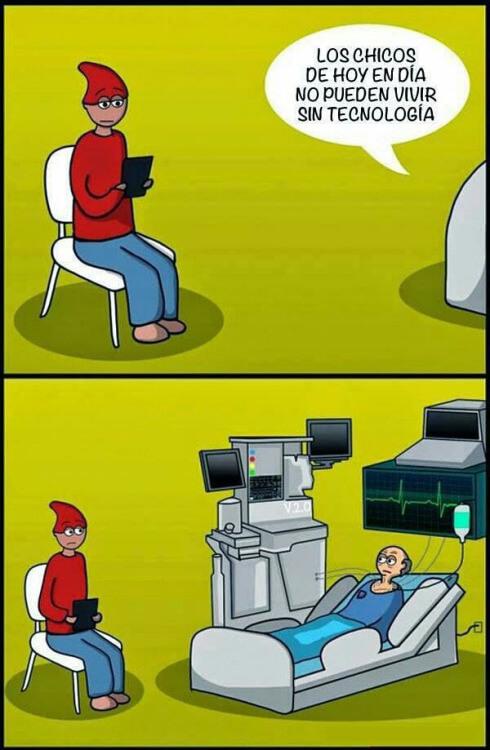 Los chicos de hoy no pueden vivir sin tecnologia