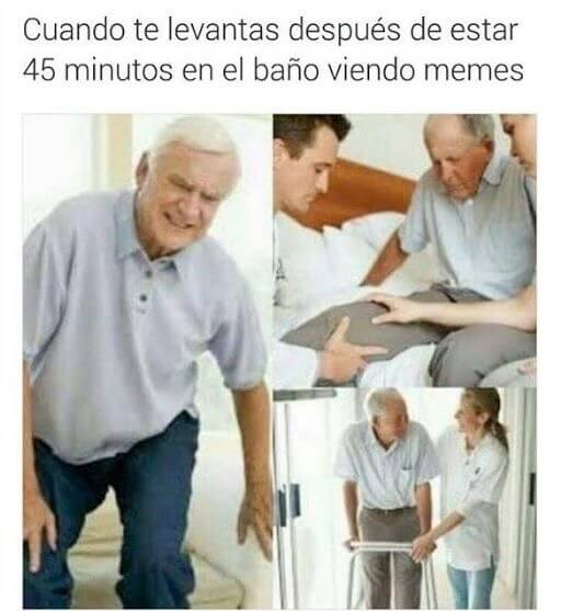 Tras pasar 45 minutos viendo memes