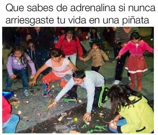 Adrenalina en nuestra infancia