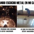 Cuando se escucha metal