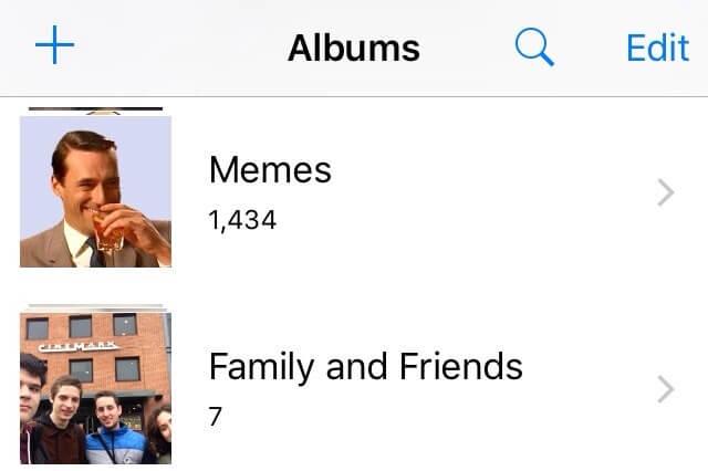 Fotos en el celular