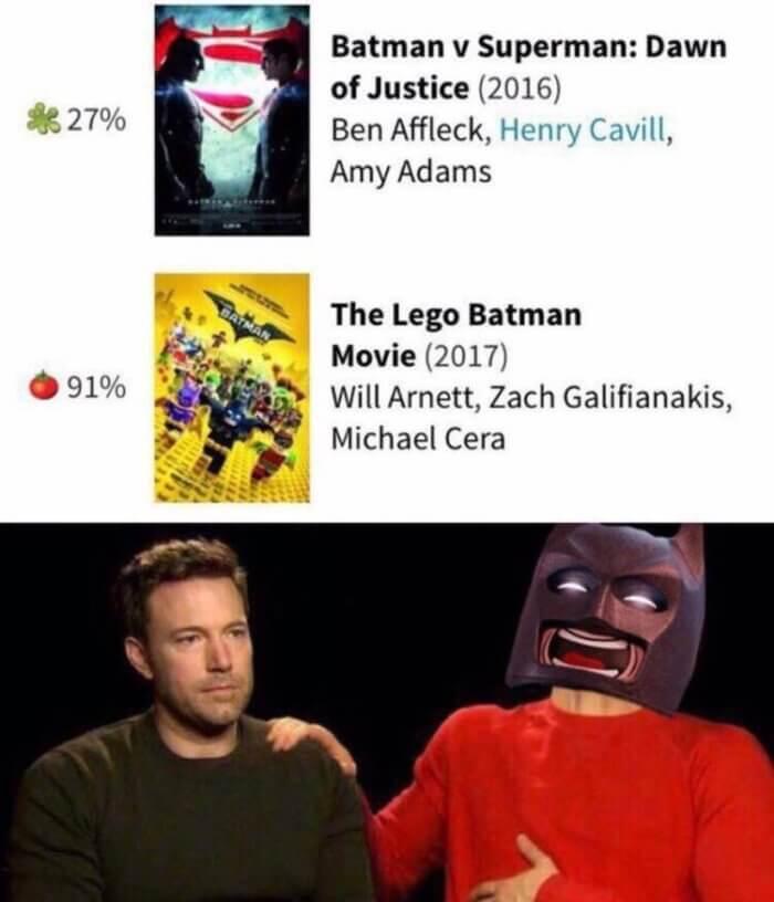 La mejor pelicula de Batman del ultimo tiempo