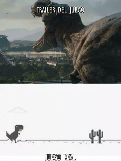 Trailer del juego vs el juego real