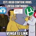 El juego contiene virus