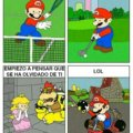 Mario encontro nuevas formas de divertirse