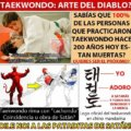 Es el taekwondo arte del diablo