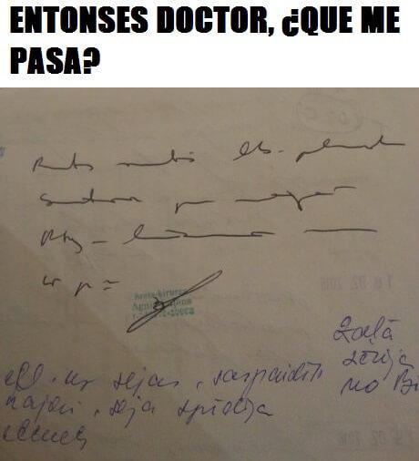 Lo que tengo segun el doctorLo que tengo segun el doctor