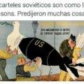 Los carteles sovieticos son como los simpsons