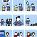Momento incomodos de superman