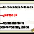 5 deseos