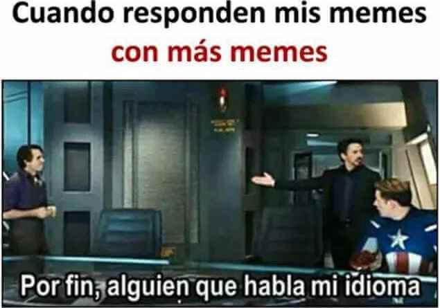 Cuando a tus memes le responden con memes