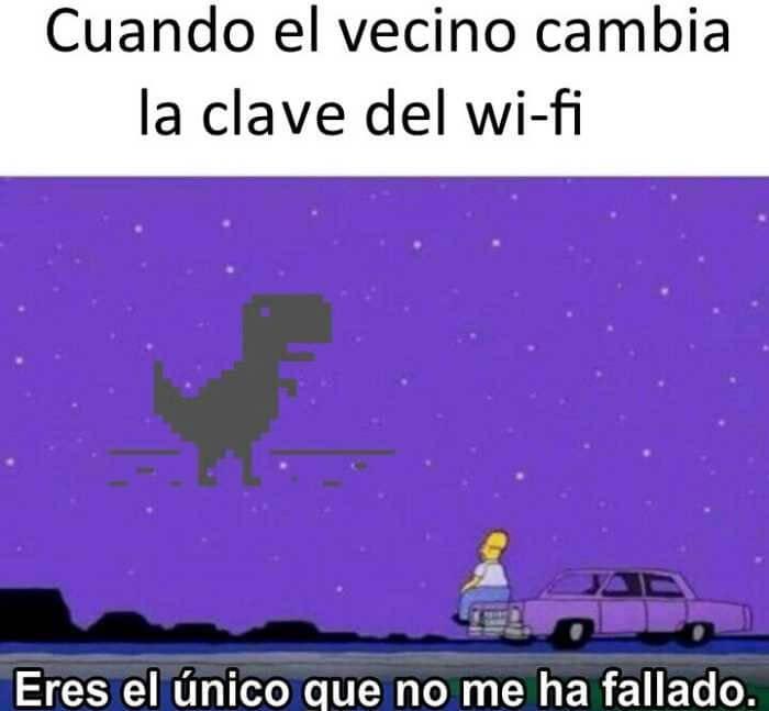 Cuando el vecino cambia la clave del Wi-Fi